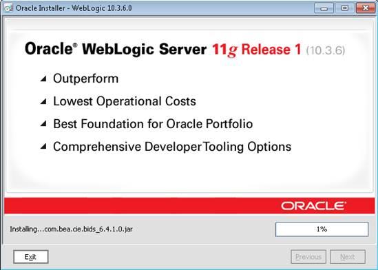 Oracle Weblogic 11g